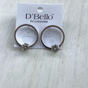 D' bello stud earring
